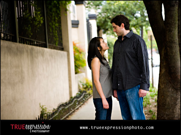 engagement photos by Atlanta wedding photographer Kelly LaBruyere
