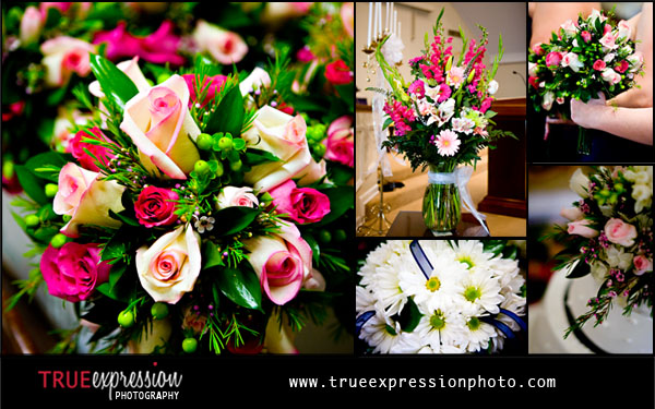 photos of wedding flowers