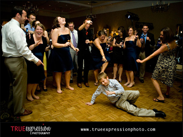 photos of wedding guests dancing