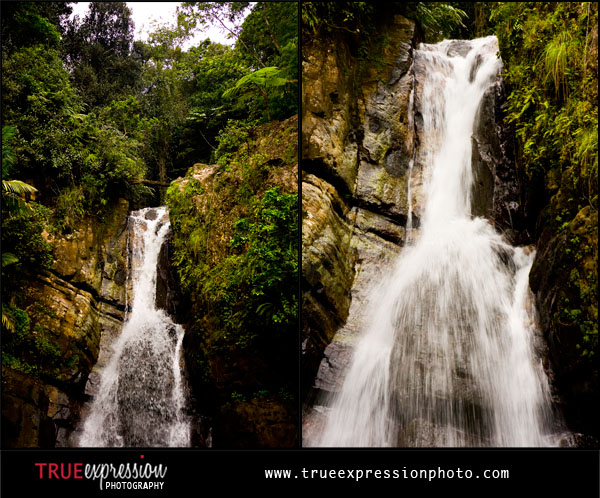 photo of La Mina Falls in the El Yunque Rain Forest