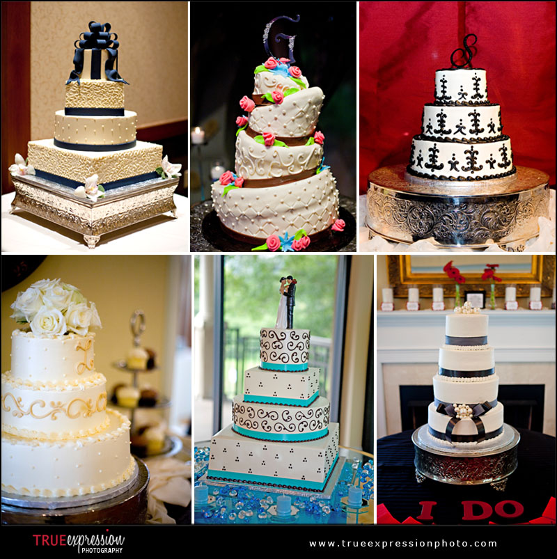 beautiful wedding cakes from Atlanta weddings