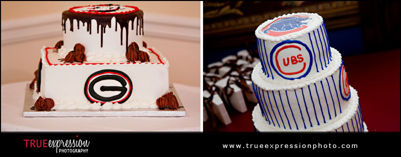 sports themed wedding cakes and grooms cakes