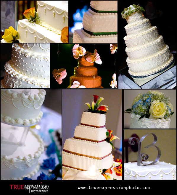 wedding cake photos taken by photographer Kelly LaBruyere